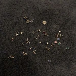 Dermal post jewelry